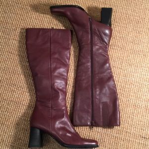 Jennifer Moore tall leather boots NWOT size 6